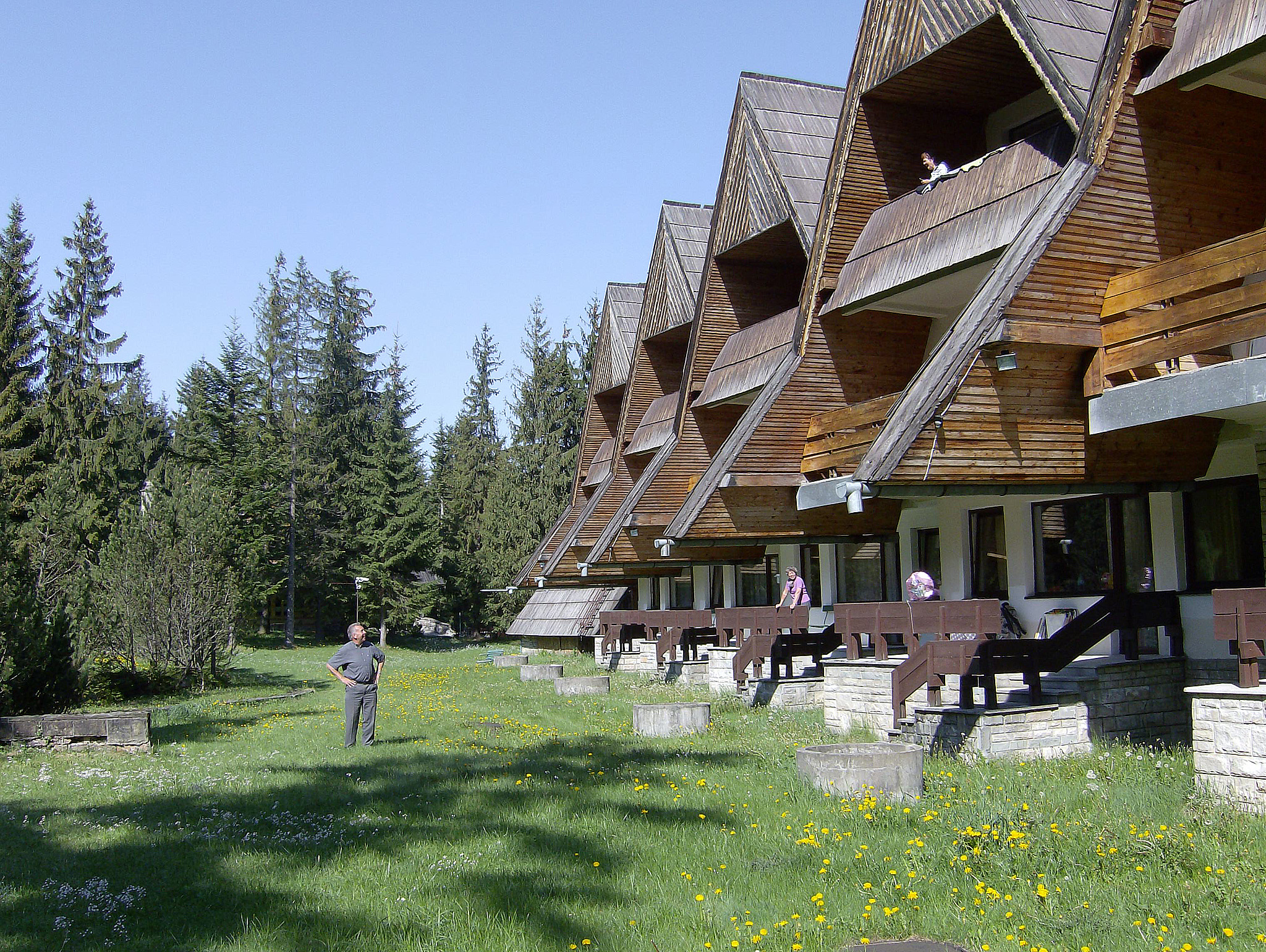 Zakopane, hotel Bialy Potok